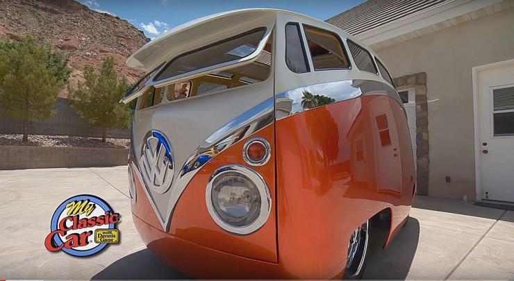 Ron Berry 1965 Cartoon Custom VW Bus Surf Seeker 05.