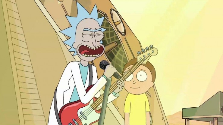 rick and morty soundtrack 01