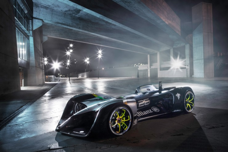 Formula E Roborace self driving car 02