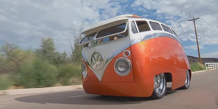 Ron Berry 1965 Cartoon Custom VW Bus Surf Seeker 06.