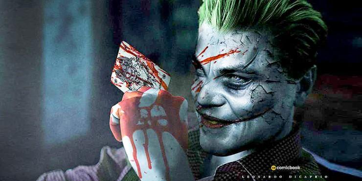 Joker Origin Movie leonardo dicaprio.