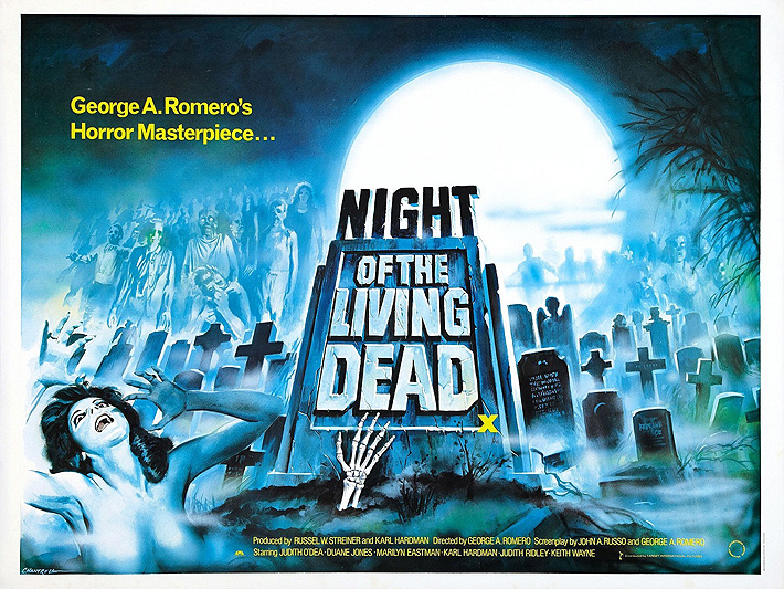Zombie Movies Night of the Living Dead Mistake 06.