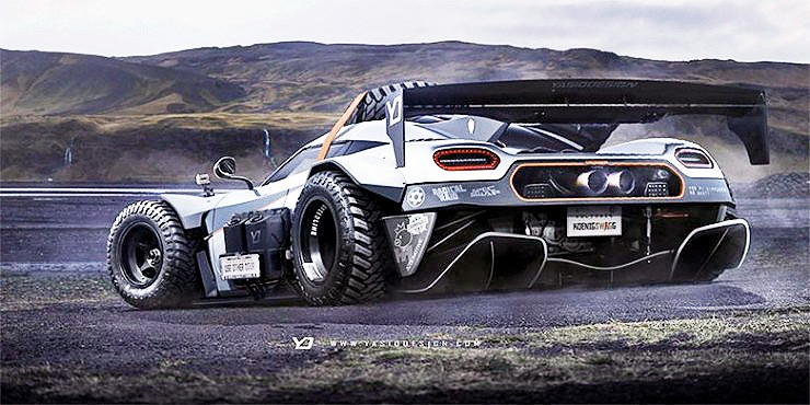 Yasid Design Koenigsegg One:1