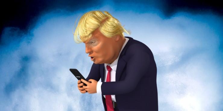 Donald Trump Tweet Cloud Lamp 11.