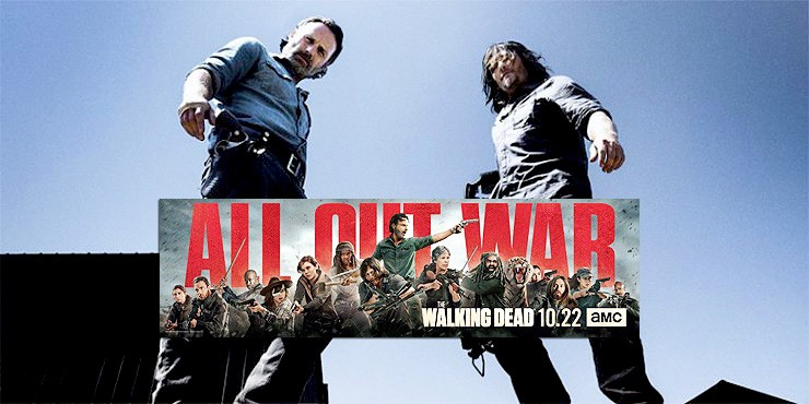 The Walking Dead Season 8 All Out War.