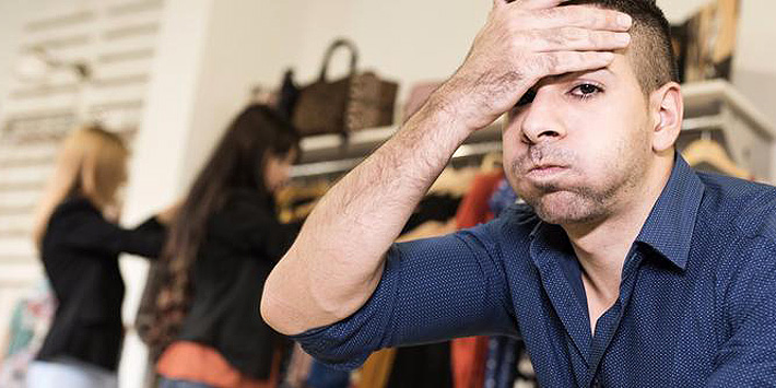 Men Hate shopping 22.