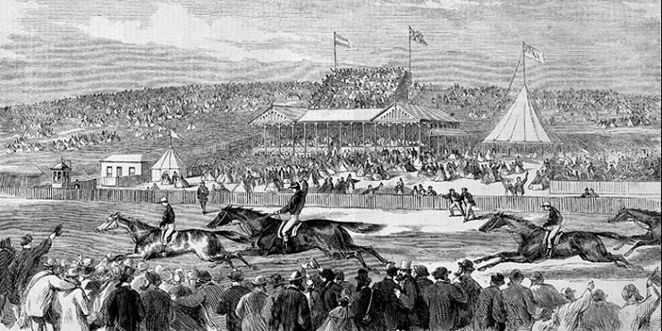 Early Horse Racing In Australia.